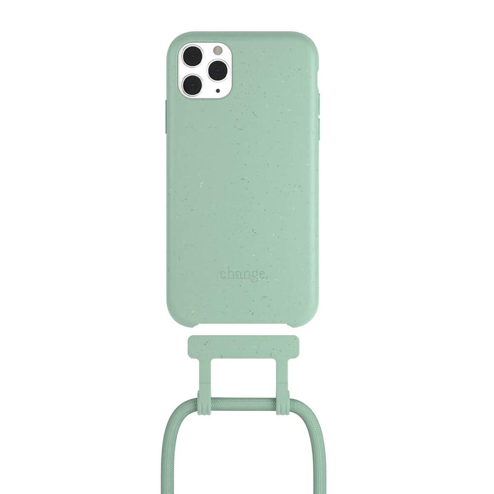 Чехол Woodcessories Necklace Bio AM Mint Green для iPhone 11 Pro Max