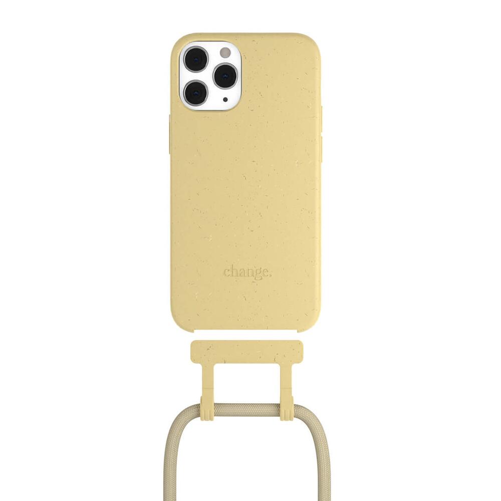 Чехол Woodcessories Necklace Bio AM Citrus Yellow для iPhone 12 | 12 Pro