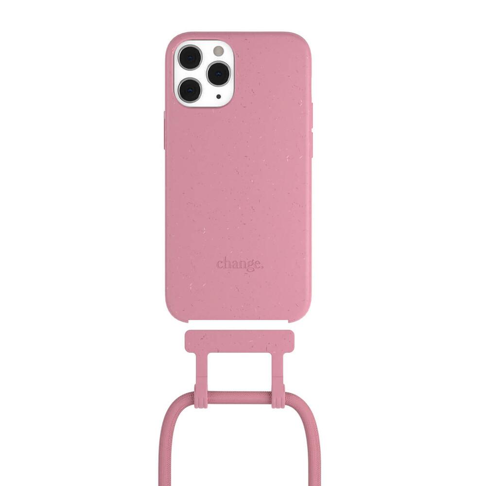 Чехол Woodcessories Necklace Bio AM Coral Pink для iPhone 12   12 Pro