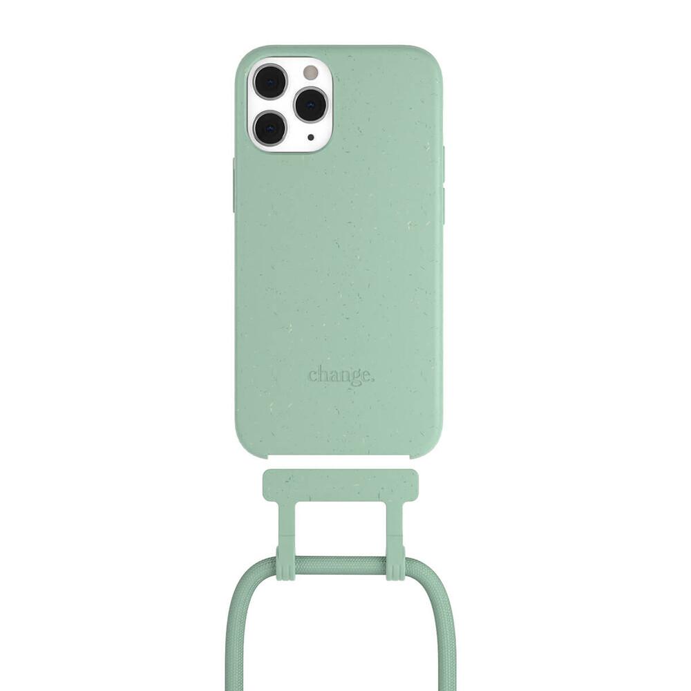 Чехол Woodcessories Necklace Bio AM Mint Green для iPhone 12 | 12 Pro