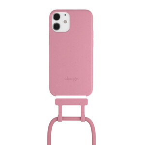 Купить Чехол Woodcessories Necklace Bio AM Coral Pink для iPhone 12 mini