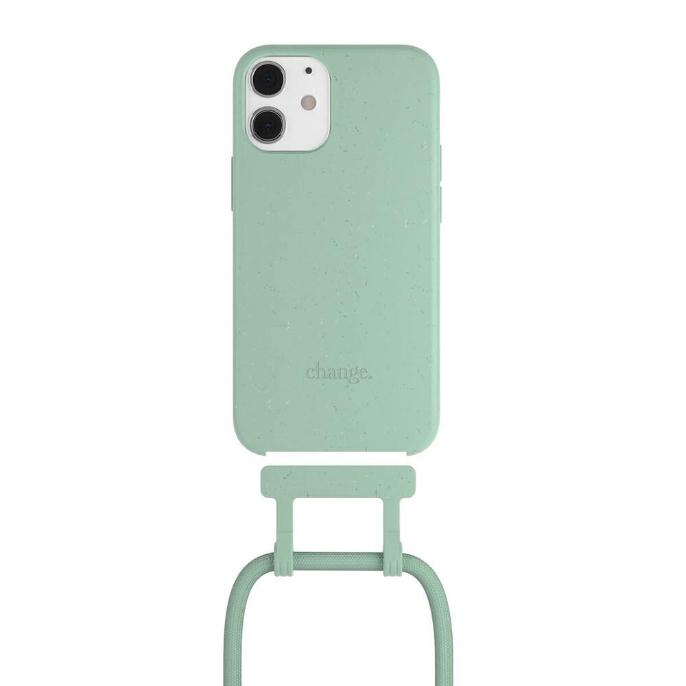 Чехол Woodcessories Necklace Bio AM Mint Green для iPhone 12 mini