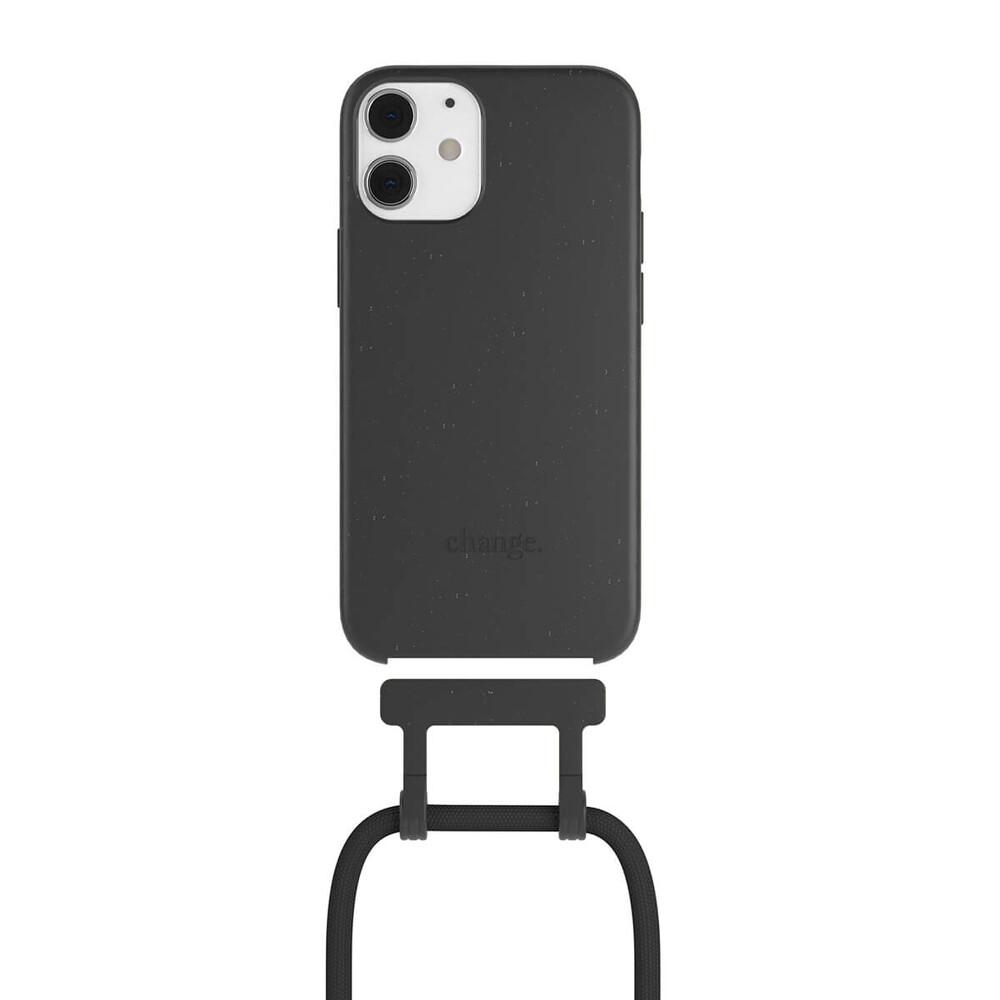 Чехол Woodcessories Necklace Bio AM Black для iPhone 12 mini