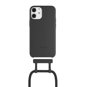 Купить Чехол Woodcessories Necklace Bio AM Black для iPhone 12 mini