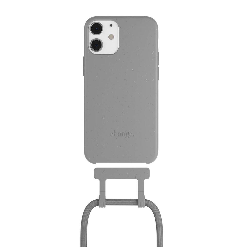 Чехол Woodcessories Necklace Bio AM Cool Grey для iPhone 12 mini