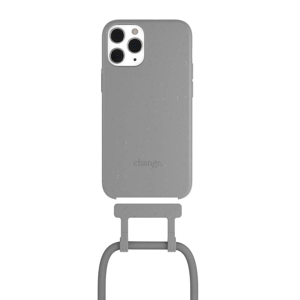 Чехол Woodcessories Necklace Bio AM Cool Grey для iPhone 12 Pro Max