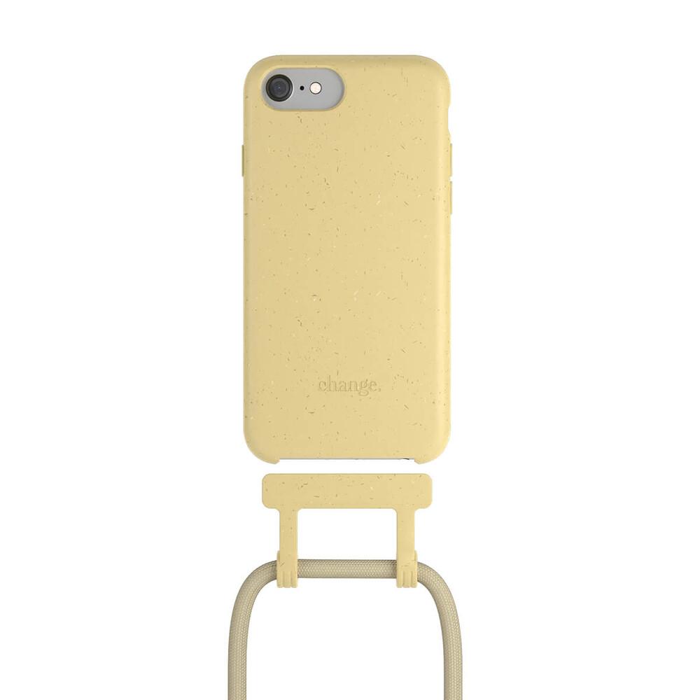 Чехол Woodcessories Necklace Bio AM Citrus Yellow для iPhone 6 | 6s | 7 | 8 | SE 2 (2020)
