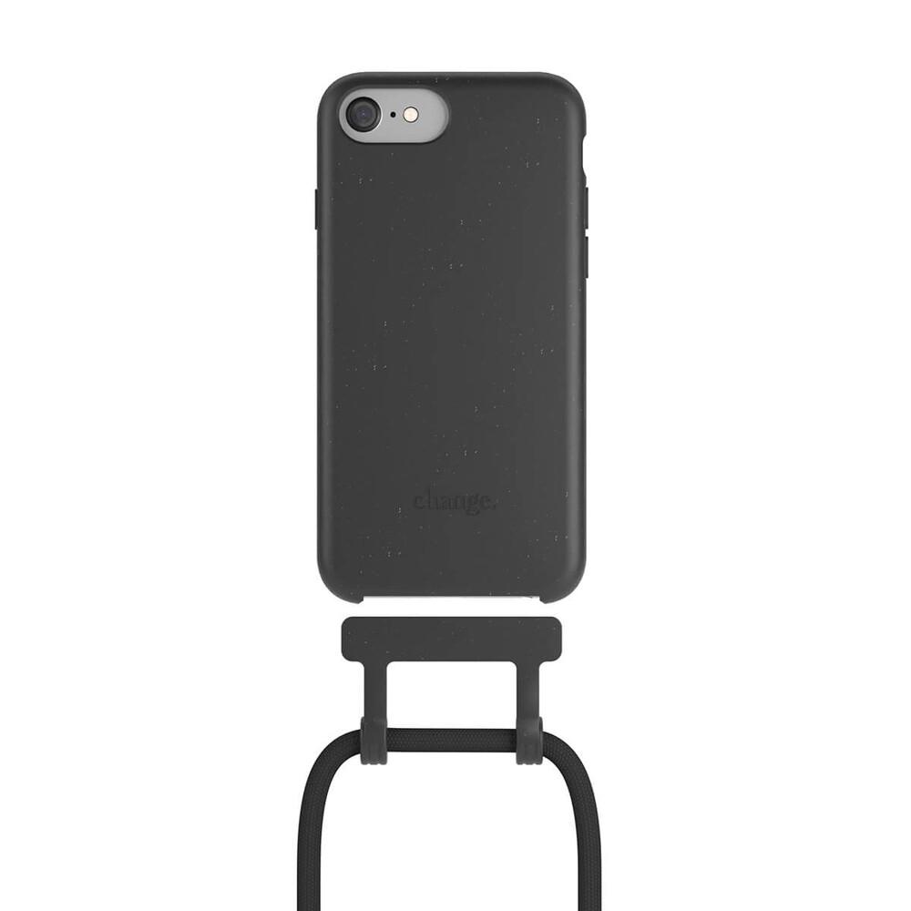 Чехол Woodcessories Necklace Bio AM Black для iPhone 6   6s   7   8   SE 2 (2020)