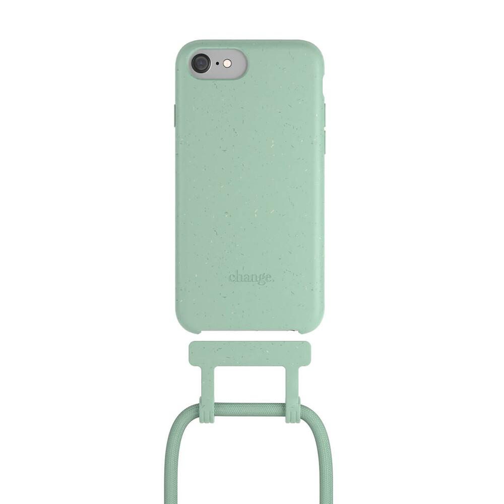 Чехол Woodcessories Necklace Bio AM Mint Green для iPhone 6   6s   7   8   SE 2 (2020)