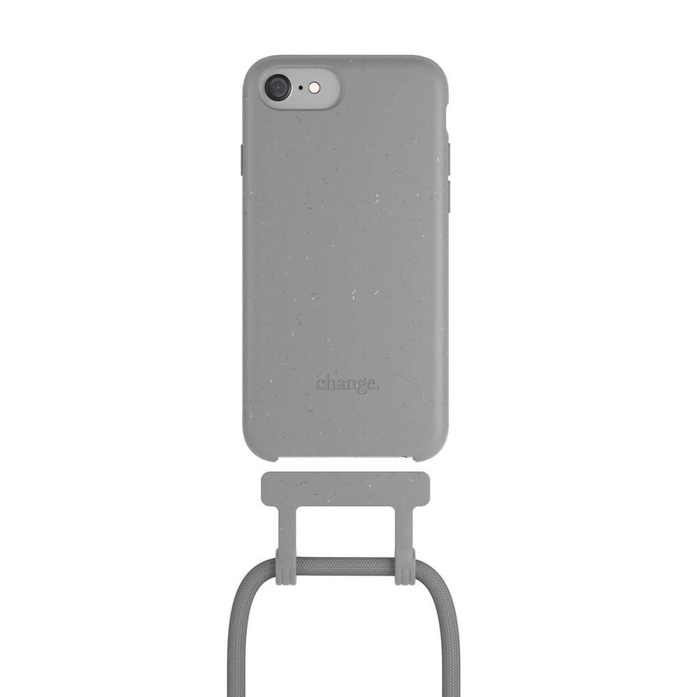 Чехол Woodcessories Necklace Bio AM Cool Grey для iPhone 6 | 6s | 7 | 8 | SE 2 (2020)