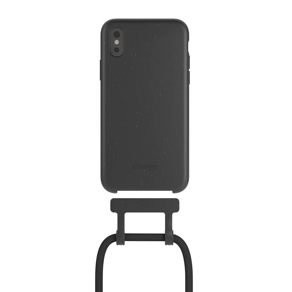 Чехол Woodcessories Necklace Bio AM Black для iPhone XS