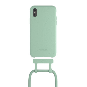 Купить Чехол Woodcessories Necklace Bio AM Mint Green для iPhone XS