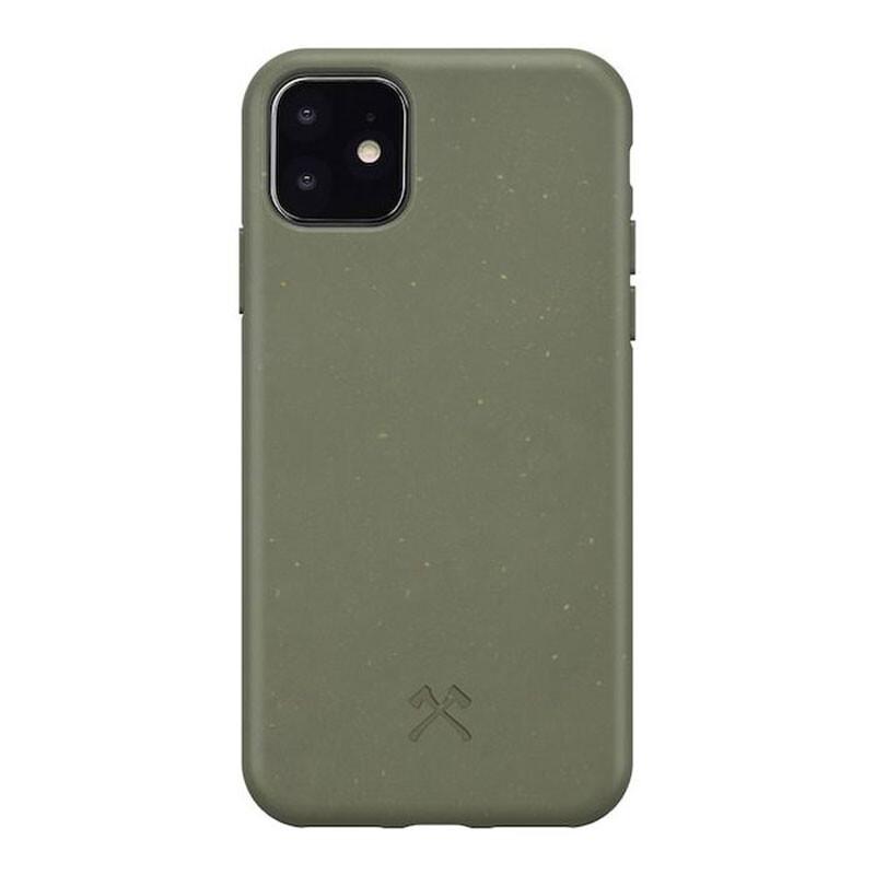 Эко-чехол Woodcessories Bio Case Khaki Green для iPhone 11
