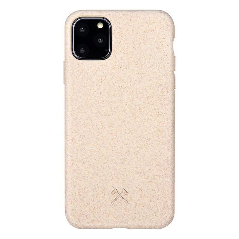 Эко-чехол Woodcessories Bio Case Natural White для iPhone 11 Pro