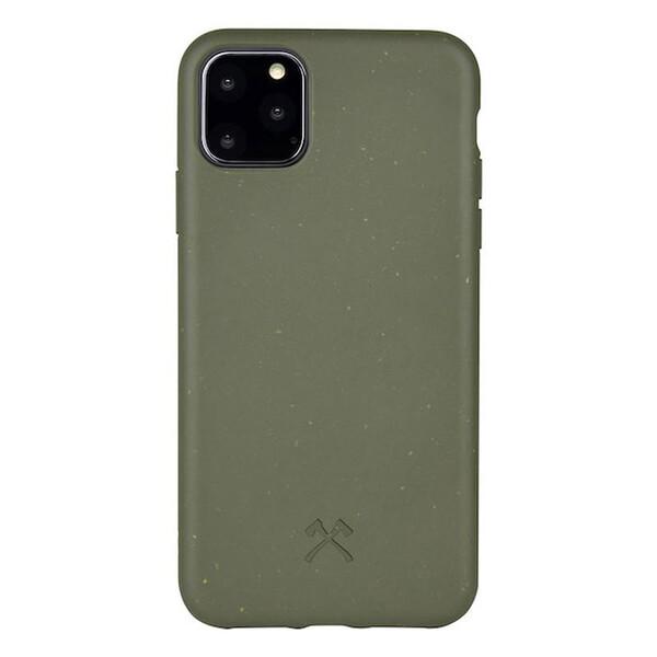 Эко-чехол Woodcessories Bio Case Khaki Green для iPhone 11 Pro Max