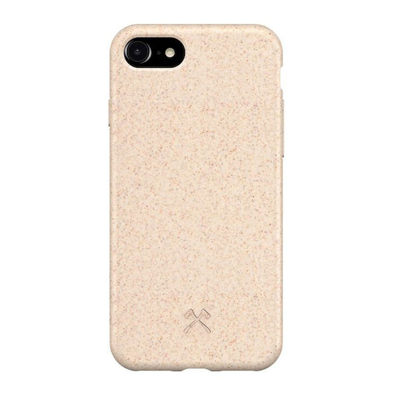 Эко-чехол Woodcessories Bio Case Natural White для iPhone 7   8   SE 2020