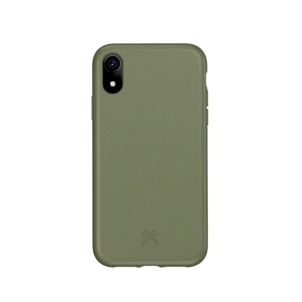 Эко-чехол Woodcessories Bio Case Khaki Green для iPhone XR