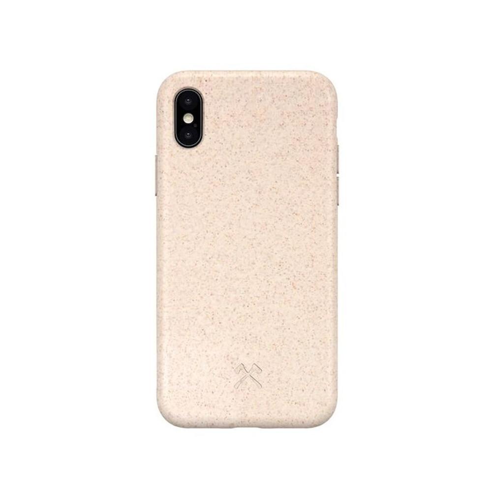 Эко-чехол Woodcessories Bio Case Natural White для iPhone X | XS