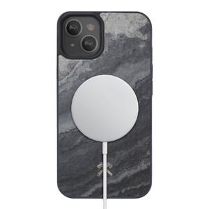 Купить Чехол из натурального камня Woodcessories Bumper Case Camo Grey MagSafe для iPhone 13