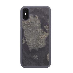 Купить Чехол из натурального камня Woodcessories Bumper Case Stone Camo Gray для iPhone X | XS