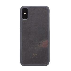 Купить Чехол из натурального камня Woodcessories Bumper Case Stone Volcano Black для iPhone X | XS