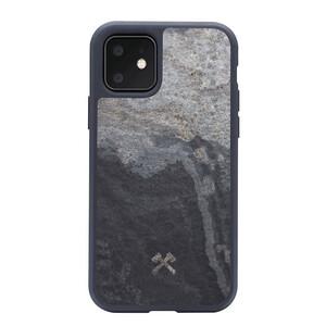 Купить Чехол из натурального камня Woodcessories Bumper Case Stone Camo Gray для iPhone 11