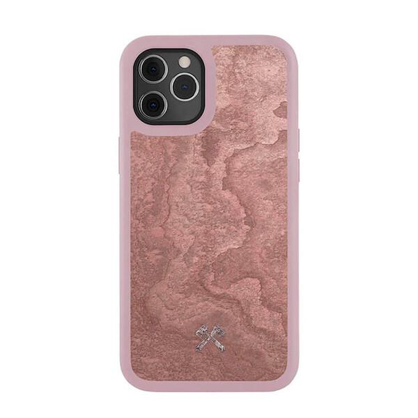 Противоударный чехол Woodcessories Bumper Case Stone Canyon Red для iPhone 12 Pro Max