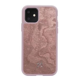 Купить Чехол из натурального камня Woodcessories Bumper Case Stone Canyon Red для iPhone 11