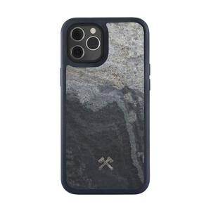 Купить Чехол из натурального камня Woodcessories Bumper Case Stone Camo Gray для iPhone 12 | 12 Pro