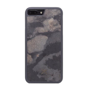 Купить Чехол из натурального камня Woodcessories Bumper Case Stone Camo Gray для iPhone 7 Plus | 8 Plus