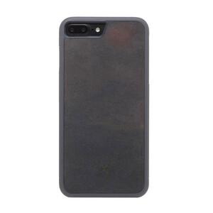Купить Чехол из натурального камня Woodcessories Bumper Case Stone Volcano Black для iPhone 7 Plus | 8 Plus