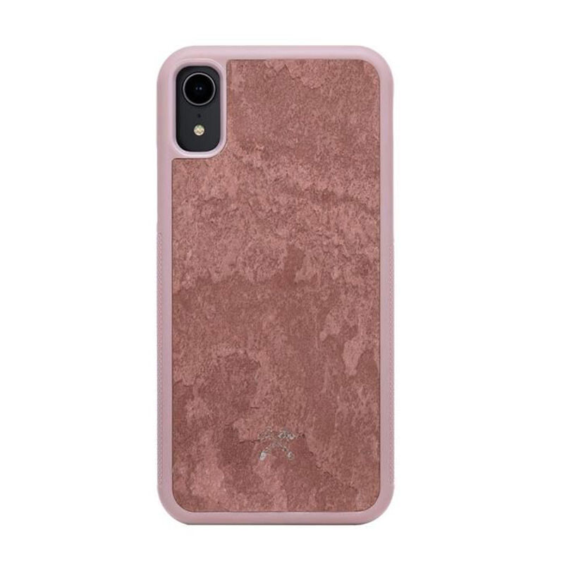 Чехол из натурального камня Woodcessories Bumper Case Stone Canyon Red для iPhone XR