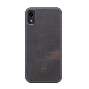 Купить Чехол из натурального камня Woodcessories Bumper Case Stone Volcano Black для iPhone XR