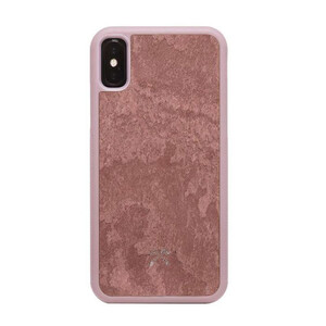 Купить Чехол из натурального камня Woodcessories Bumper Case Stone Canyon Red для iPhone XS Max