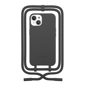 Купить Эко-чехол Woodcessories Crossbody Case Black для iPhone 13