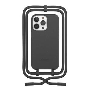 Купить Эко-чехол Woodcessories Crossbody Case Black для iPhone 13 Pro Max