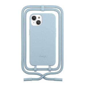 Купить Эко-чехол Woodcessories Crossbody Case Pastel Blue для iPhone 13