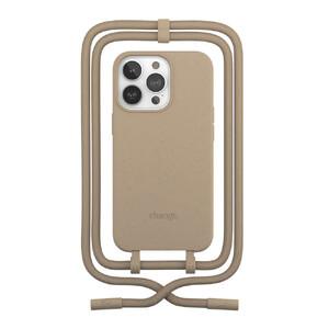 Купить Эко-чехол Woodcessories Crossbody Case Taupe Brown для iPhone 13 Pro Max