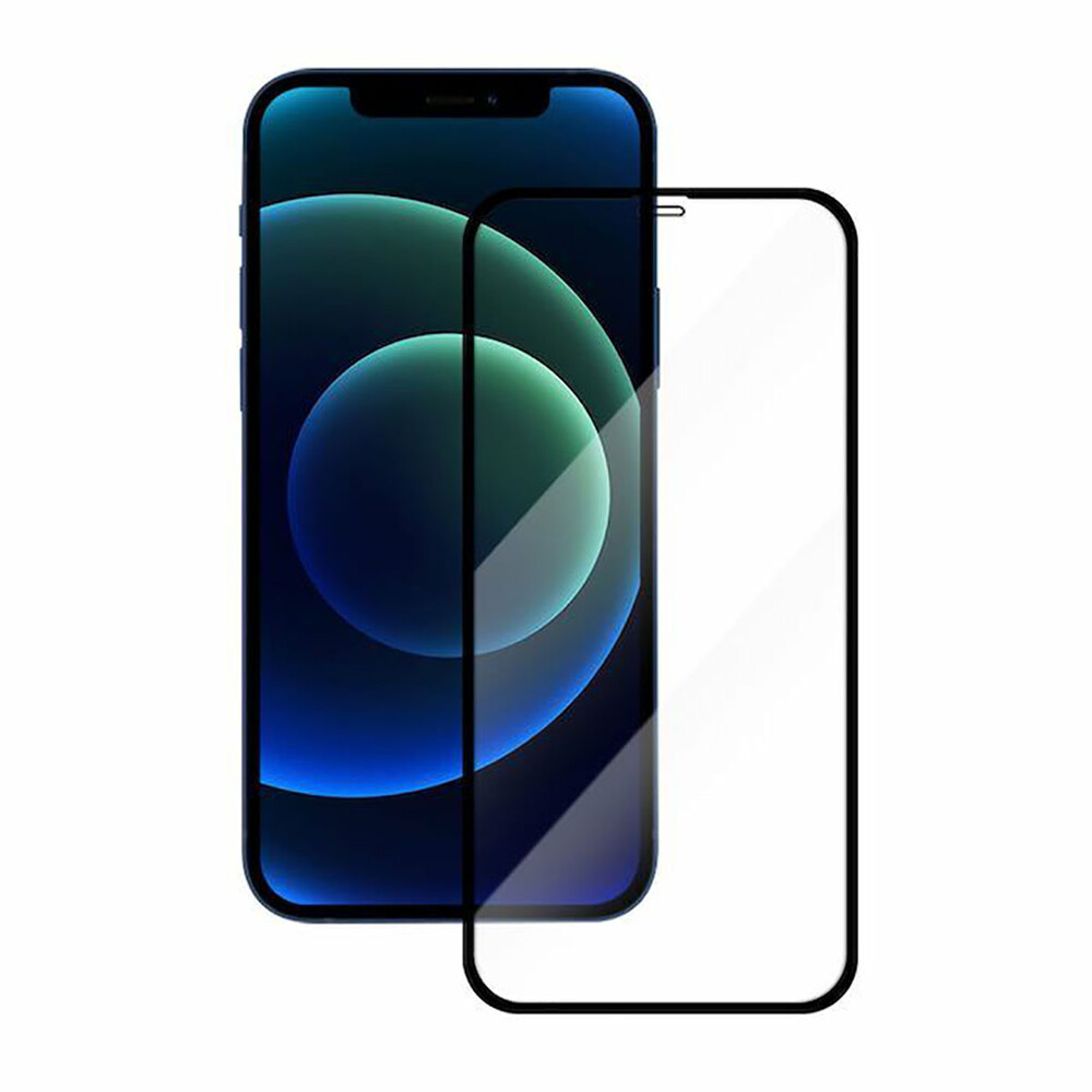 Защитное стекло Woodcessories Curved Tempered Glass 3D для iPhone 12   12 Pro