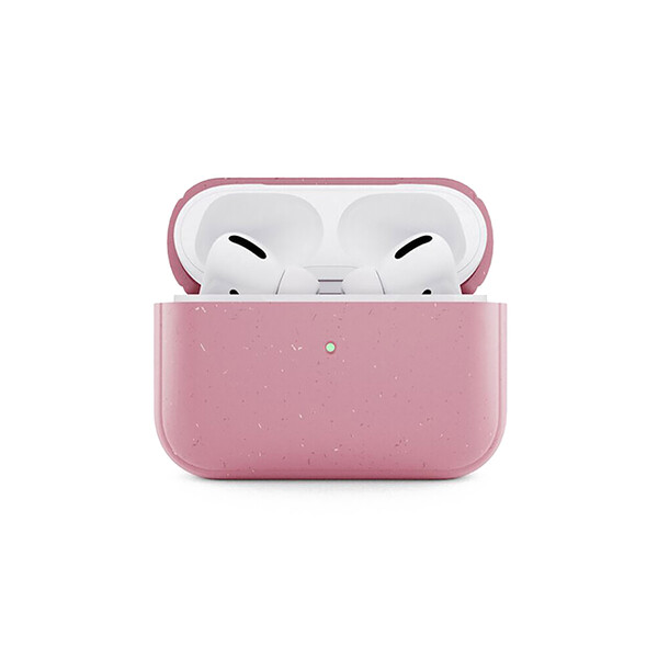 Эко-чехол Woodcessories Eco-Friendly Coral Pink для AirPods Pro