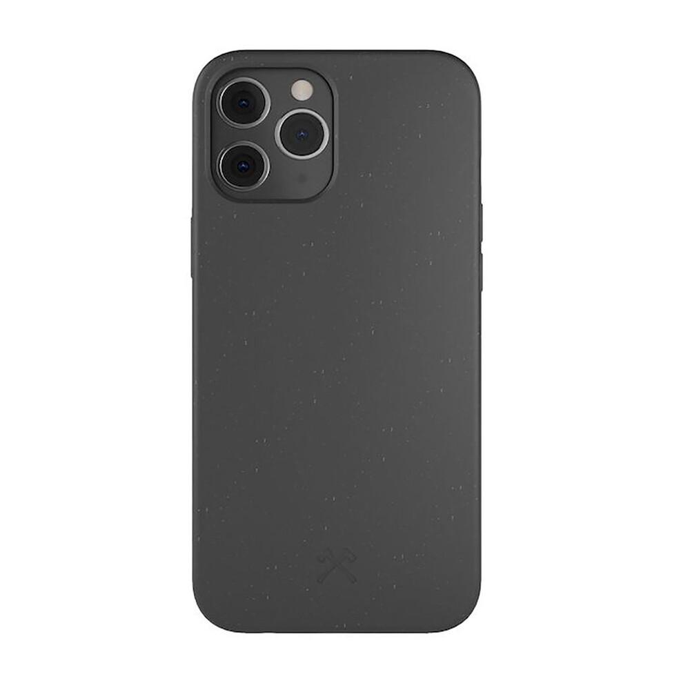 Эко-чехол Woodcessories Eco-Friendly Black для iPhone 12   12 Pro