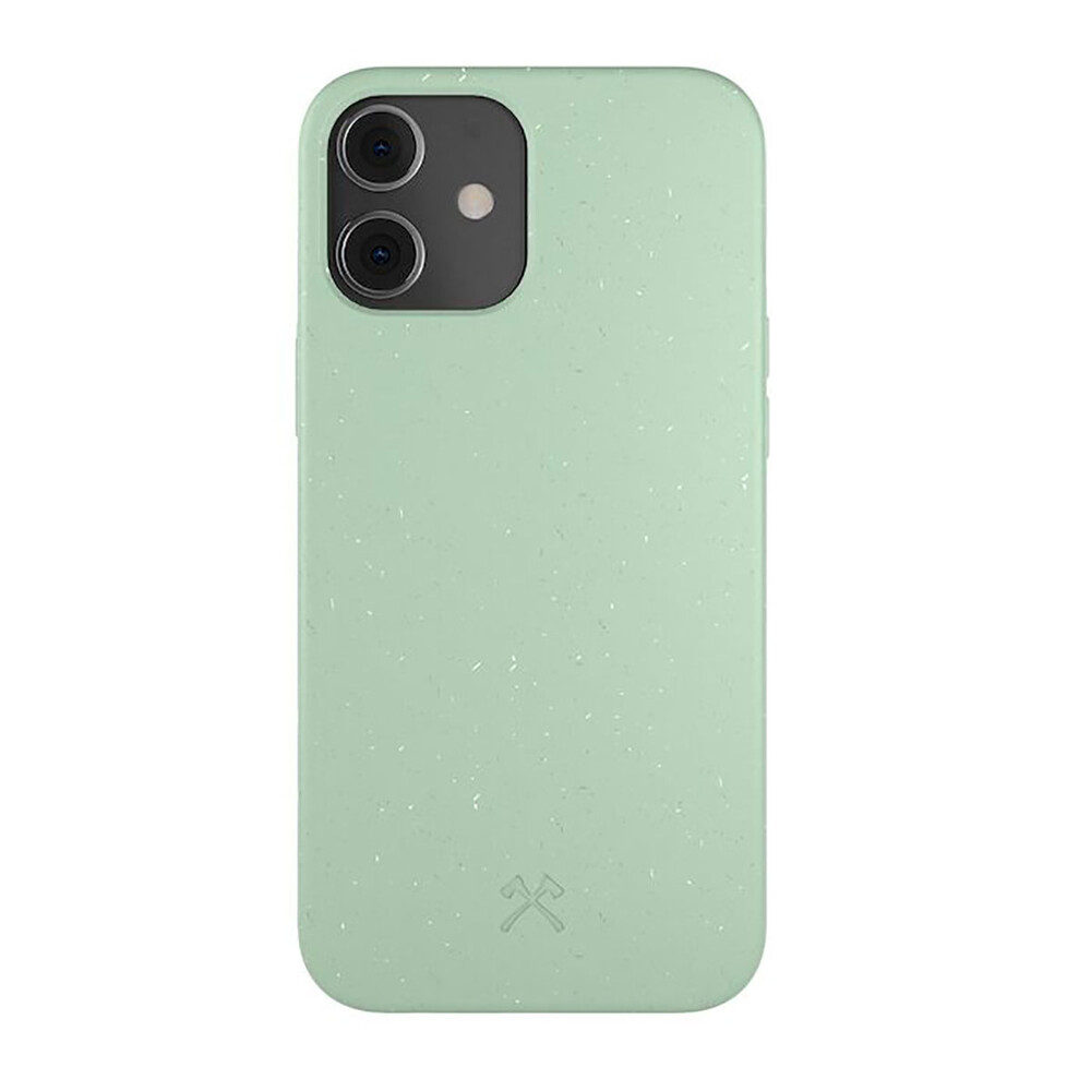 Эко-чехол Woodcessories Eco-Friendly Mint Green для iPhone 12 mini
