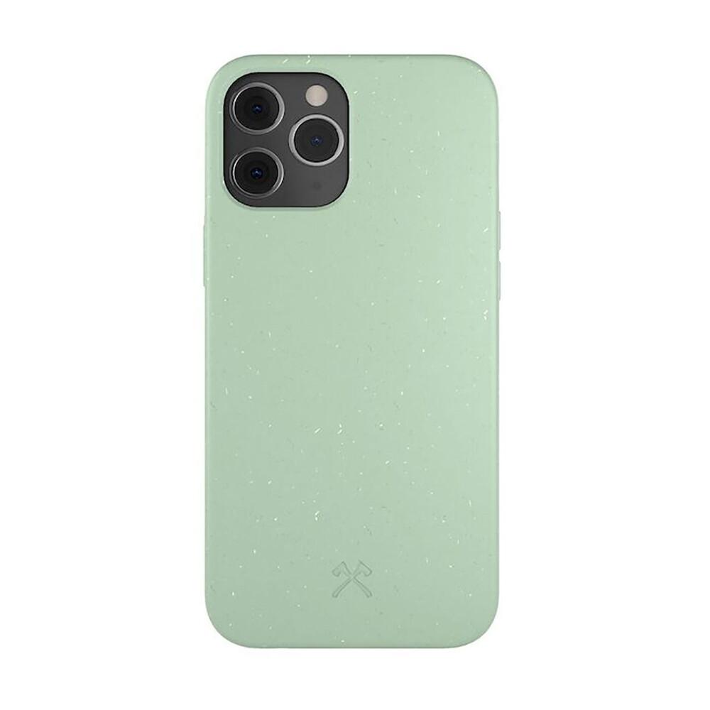 Эко-чехол Woodcessories Eco-Friendly Mint Green для iPhone 12   12 Pro
