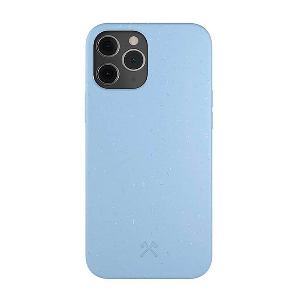Эко-чехол Woodcessories Eco-Friendly Purple Blue для iPhone 12 Pro Max
