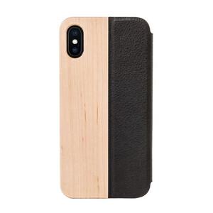 Купить Деревянный чехол-книжка Woodcessories EcoFlip Maple для iPhone X | XS