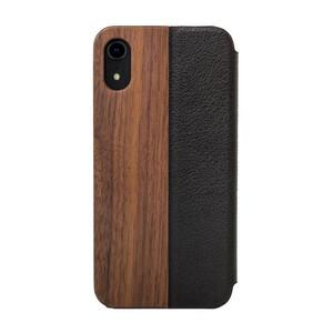 Купить Деревянный чехол-книжка Woodcessories EcoFlip Walnut для iPhone XR