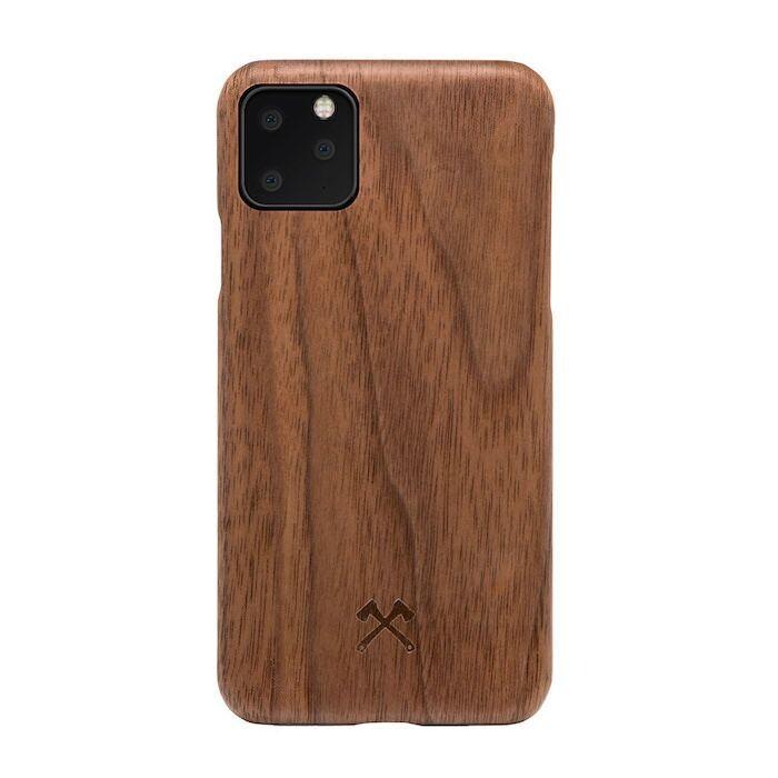 Деревянный чехол Woodcessories Slim Case Walnut для iPhone 11 Pro Max