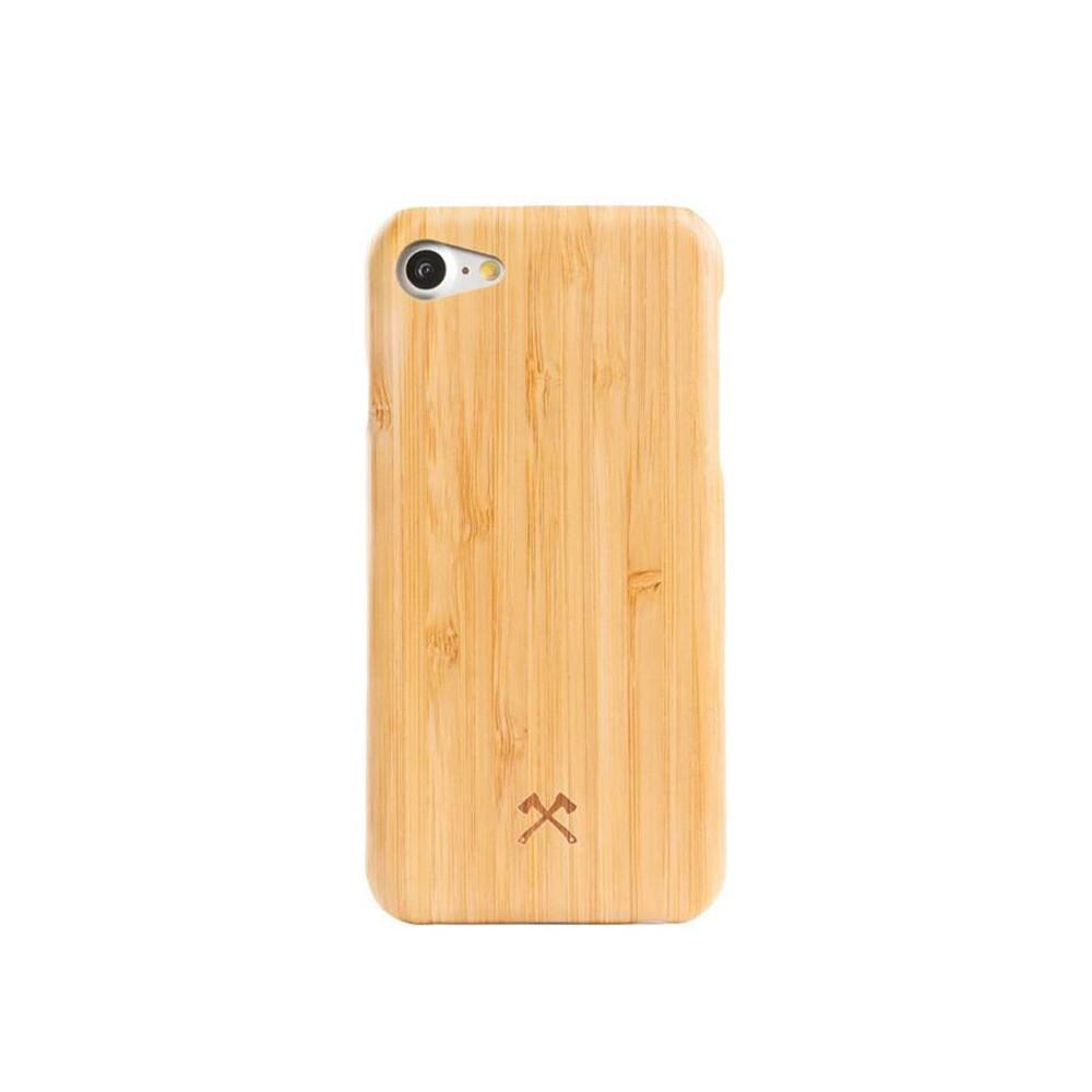 Деревянный чехол Woodcessories Ultra Slim Case Bamboo для iPhone 7   8   SE 2020