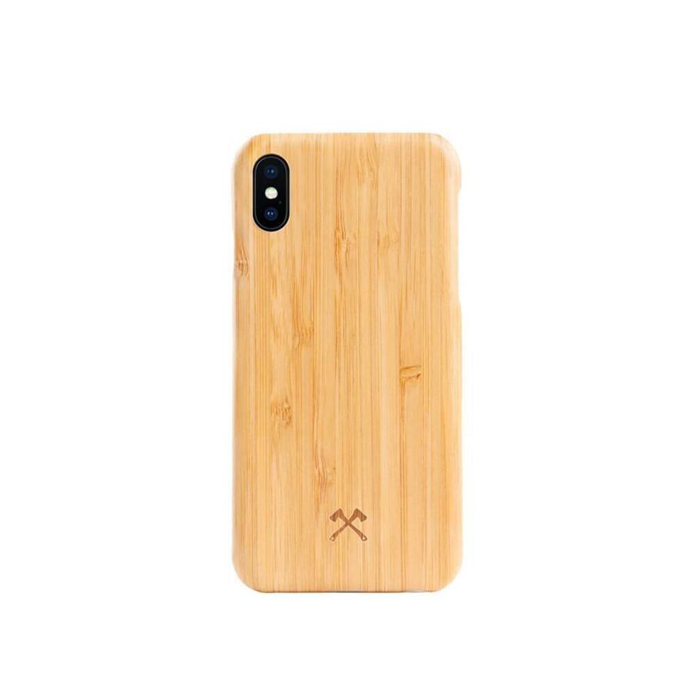 Деревянный чехол Woodcessories Ultra Slim Case Bamboo для iPhone X   XS