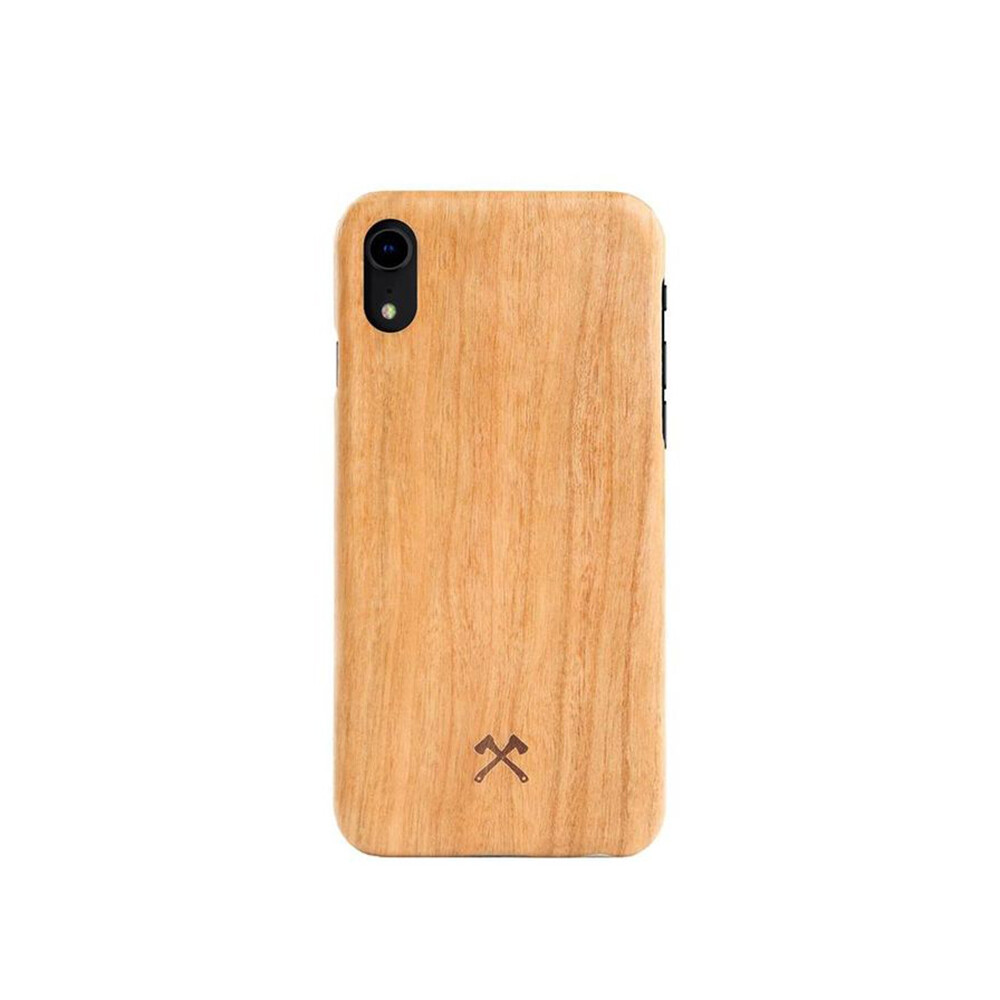 Деревянный чехол Woodcessories Ultra Slim Case Cherry для iPhone XR
